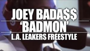 Video: Joey Bada$$ - LA Leakers Freestyle